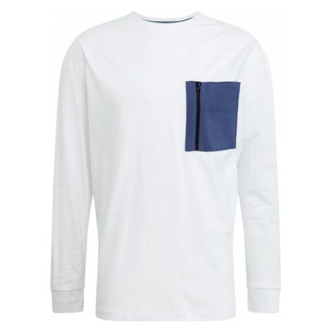 Urban Classics Koszulka niebieski / biały