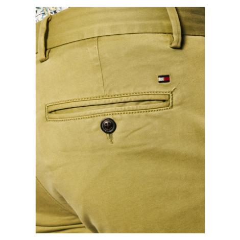 TOMMY HILFIGER Spodnie materiałowe Bleecker MW0MW13287 Zielony Slim Fit