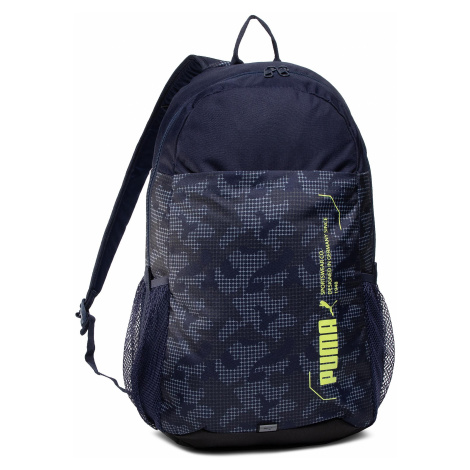Plecak PUMA - Style Backpack 076703 09 Peacoat/Camo Aop