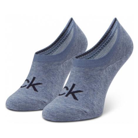 Calvin Klein Skarpety Stopki Damskie 100001788 r.OS Niebieski