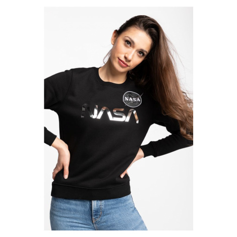 Bluza Alpha Industries Nasa Pm Sweater Wmn 198037-373 Black