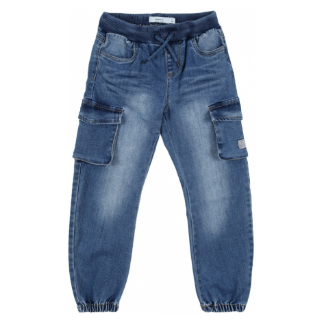 NAME IT Jeansy 'Baggy' niebieski denim