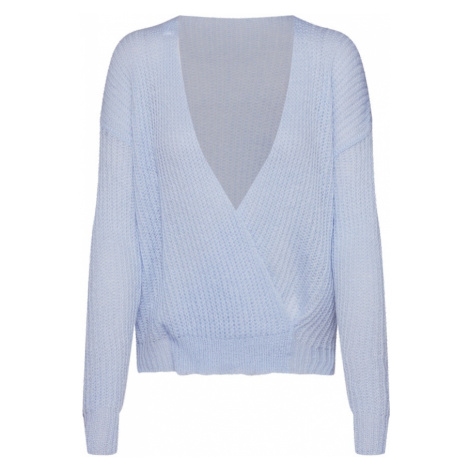 Missguided Sweter jasnoniebieski