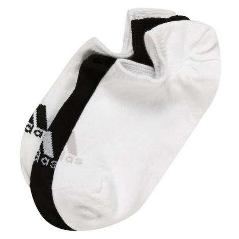 Adidas Golf Skarpety sportowe 'NO SHOW' czarny / biały