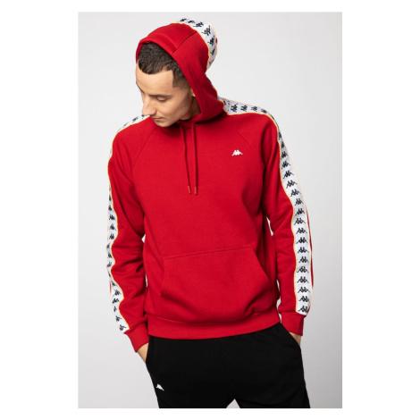 Bluza Kappa Harro Men Hooded Sweatshirt 308017-1863 Red