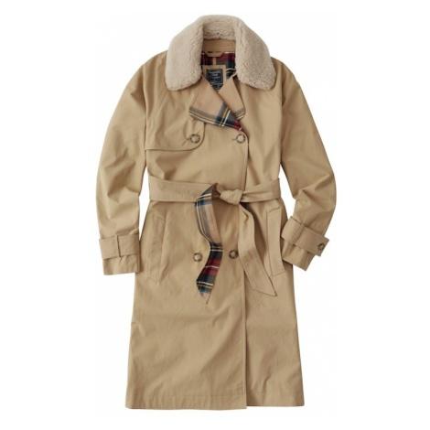 Abercrombie & Fitch Płaszcz przejściowy 'XM18-WINTER TRENCH' brązowy