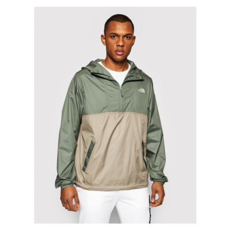 The North Face Kurtka anorak Cyclone NF0A5A3H0HF1 Zielony Regular Fit