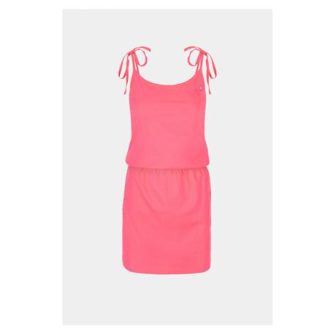 Różowa sukienka LOAP Beverly