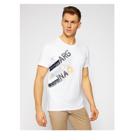 La Martina T-Shirt RMR304 JS206 Biały Regular Fit