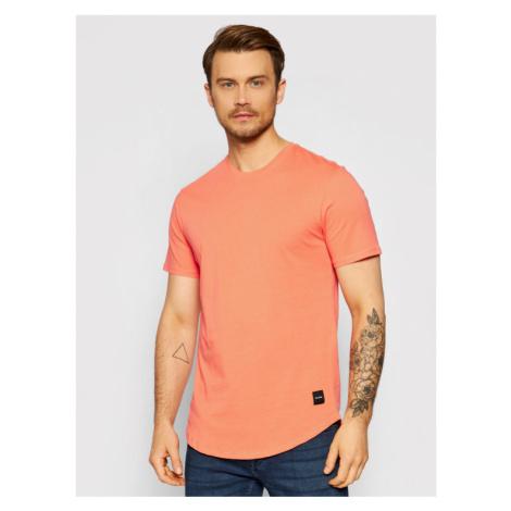 ONLY & SONS T-Shirt Matt 22002973 Pomarańczowy Regular Fit