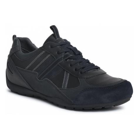 Geox Sneakersy U Ravex A U043FA 000ME C4002 Czarny