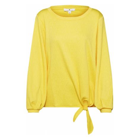 TOM TAILOR Bluzka żółty
