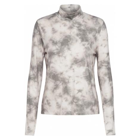 ONLY Koszulka 'ONLIRINA L/S HIGHNECK TOP JRS' zielony / biały