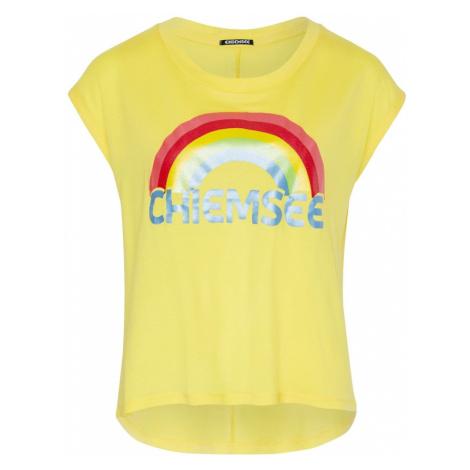 CHIEMSEE Koszulka funkcyjna żółty / czerwony
