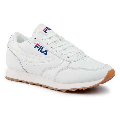 Fila Sneakersy Orbit Jogger Low Wmn 1010310.1FG Biały