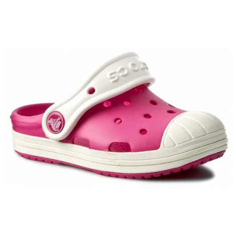 Klapki CROCS - Bump It Clog K 202282 Candy Pink/Oyster