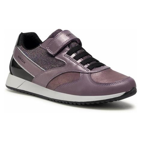 Sneakersy GEOX - J Jensea G. A J046FA 0NFFU C8275 D Lilac/Black
