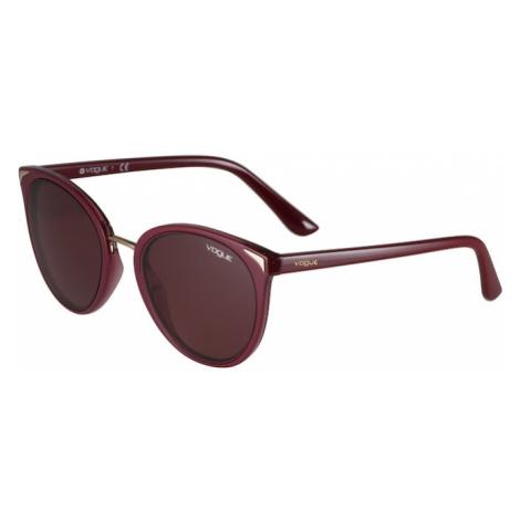 VOGUE Eyewear Okulary przeciwsłoneczne krwistoczerwony