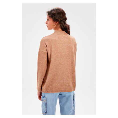 Trendyol Camel Throat Knitwear Sweater