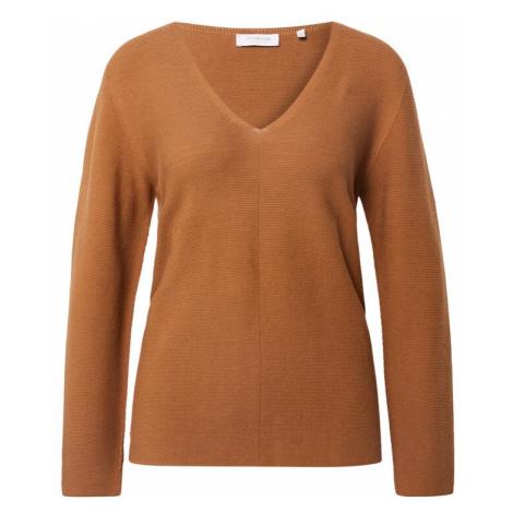 Rich & Royal Sweter brązowy