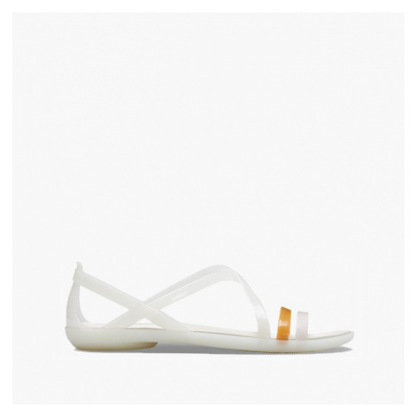 Sandały Crocs Isabella Sandal 204915 YELLOW/BURGUNDY