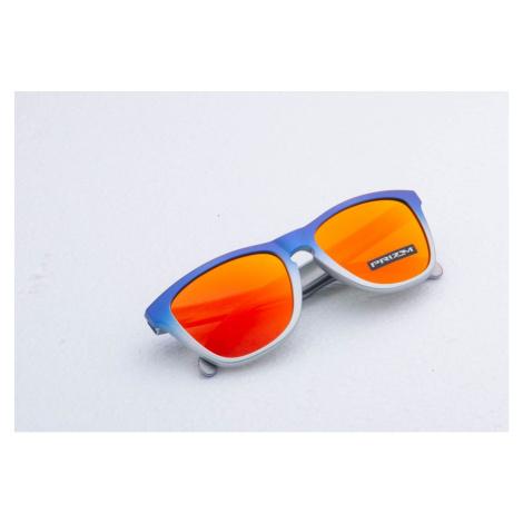 Oakley Frogskins Lite Splatterfade Sunglasses Pink Blue/ Prizm Ruby