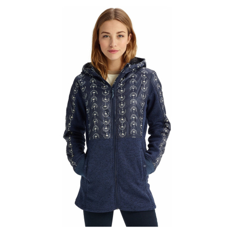 bluza Burton Embry Zip - Float Away/Mood Indigo