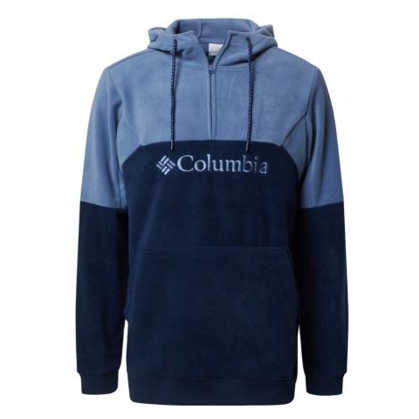 COLUMBIA Bluzka sportowa 'Lodge II' granatowy / podpalany niebieski