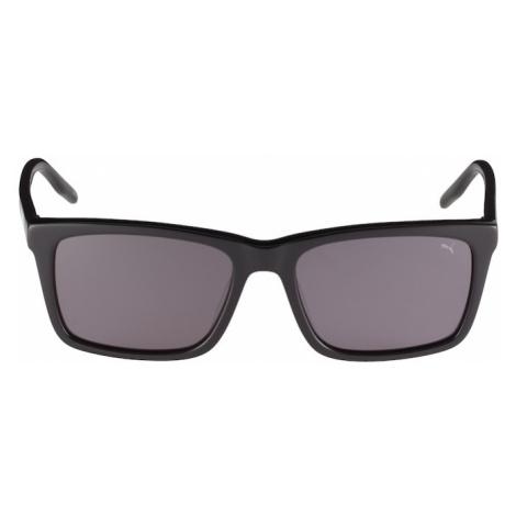PUMA Okulary przeciwsłoneczne 'PJ0040S' szary / czarny