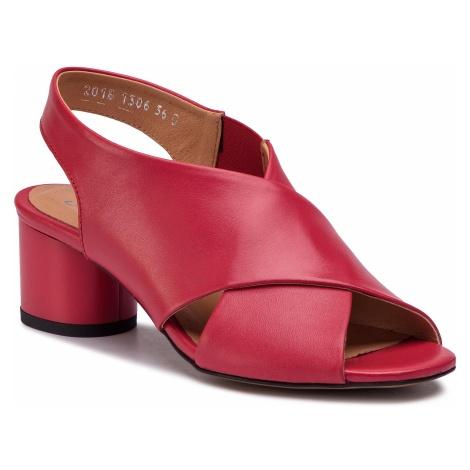 Sandały SIMEN - 1306A Ns Czerwony