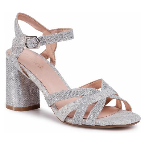 Sandały MENBUR - 21671 Silver 0009