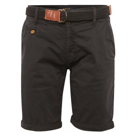 INDICODE JEANS Chinosy 'Conor' antracytowy