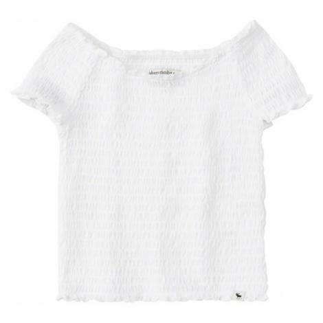 Abercrombie & Fitch Koszulka biały