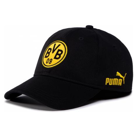 Czapka z daszkiem PUMA - BVB FtblCulture Baseball Cap 022737 02 Puma Black/Cyber Yellow