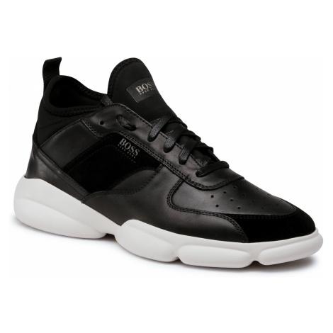 Sneakersy BOSS - Rapid Hito 50440683 10214520 01 Black 001 Hugo Boss