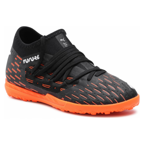 Buty PUMA - Future 6.3 Netfit Tt Jr 106203 01 Black/White/Shocking Orange