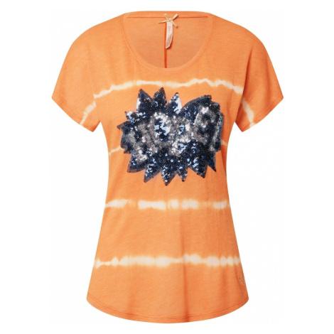 Key Largo Koszulka 'T FESTIVAL' pomarańczowy / biały / ciemny niebieski