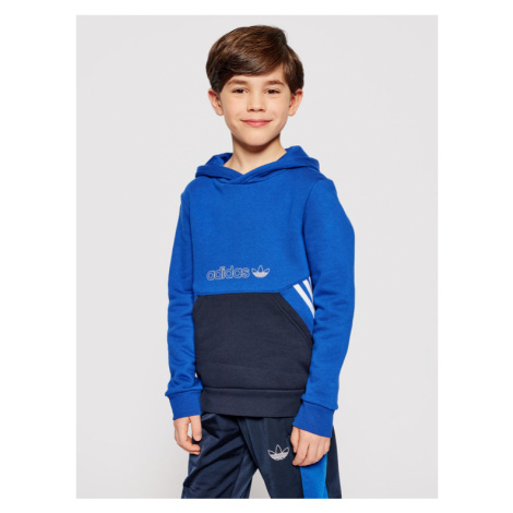 Adidas Bluza Collection Hoodie GN2384 Granatowy Regular Fit