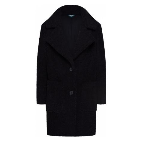 Lauren Ralph Lauren Płaszcz przejściowy 'SB TEDDY PPK-COAT' czarny