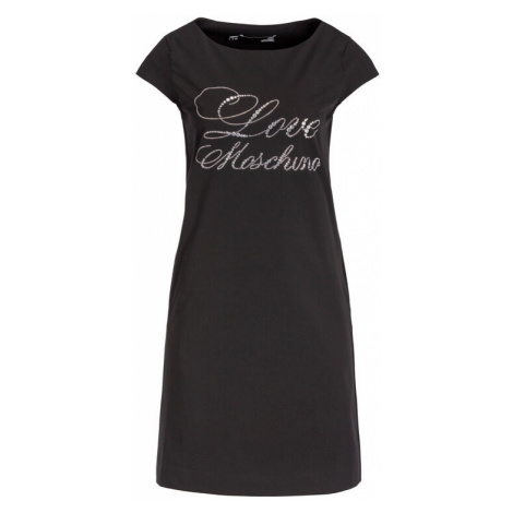 LOVE MOSCHINO Sukienka codzienna WVH5201S3112 Regular Fit