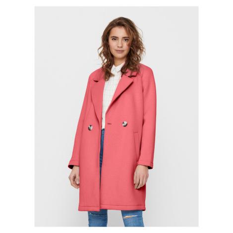 Only różowy płaszcz