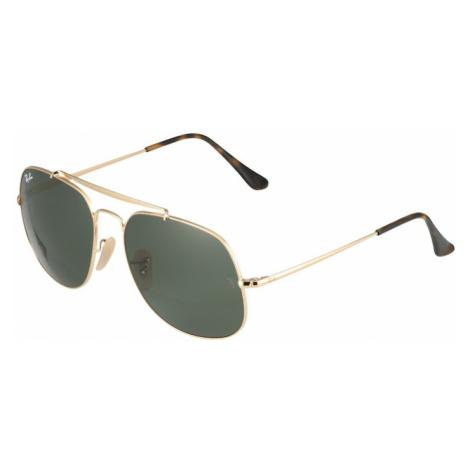 Ray-Ban Okulary przeciwsłoneczne brązowy / złoty / zielony