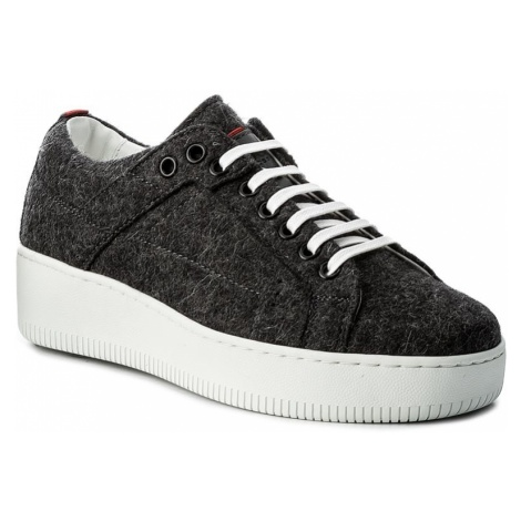 Sneakersy HUGO - Margaret-FT 50376711 10202341 01 Charcoal 011 Hugo Boss