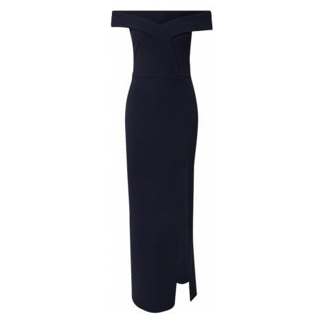 Missguided Suknia wieczorowa 'BARDOT' ciemny niebieski