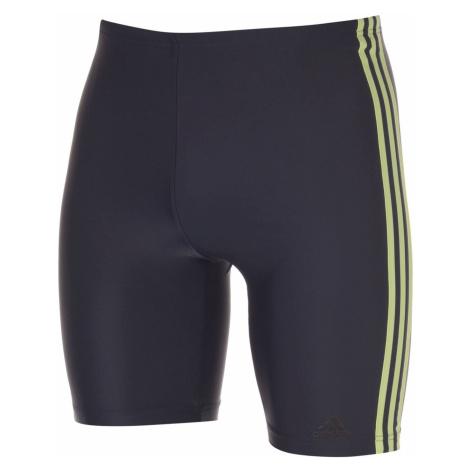 Adidas Mens Primeblue 3-Stripes Swim Jammer
