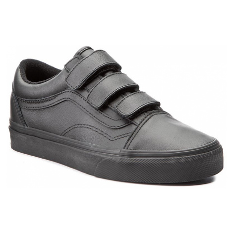 Półbuty VANS - Old Skool V VA3D29OOZ (Mono Leather) Black
