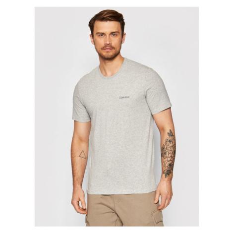 Calvin Klein Underwear T-Shirt Comfort 000NM1586E Szary Regular Fit