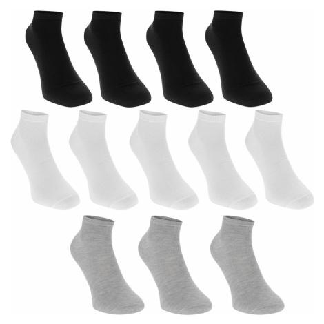 Donnay Trainer Socks 12 Pack Childrens