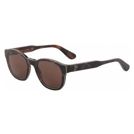 POLO RALPH LAUREN Okulary przeciwsłoneczne '0PH4159' brązowy / żółty