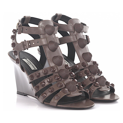 Balenciaga - Buty Sandały na koturnie